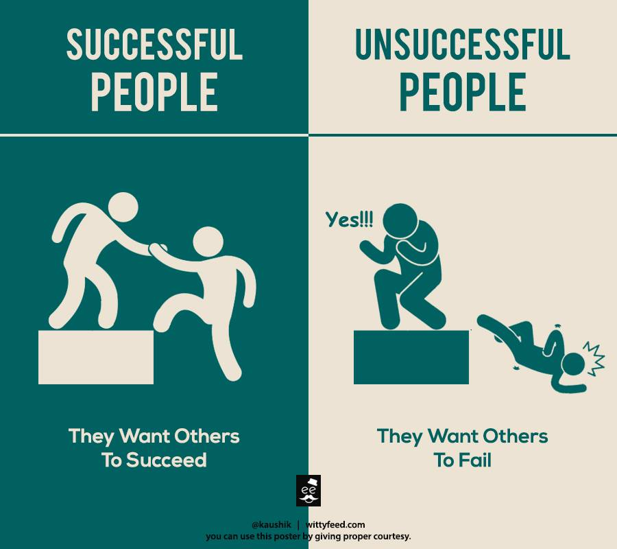 Successful People Help Others Succceed