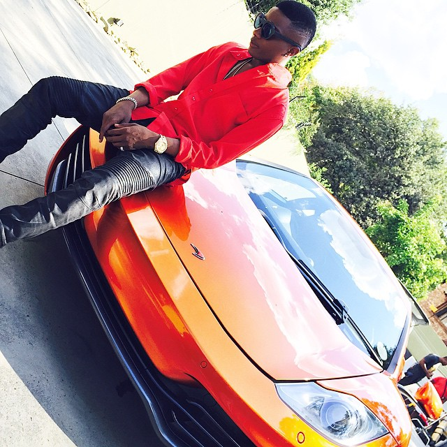 Wizzy baby Wizkid's cars