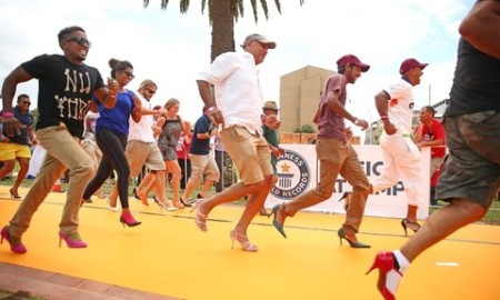 Thousands Of Runners Compete In World's Largest High Heel Race Record Attempt