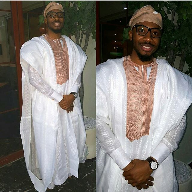The Latest Asoebi Styles Men Are Wearing Now