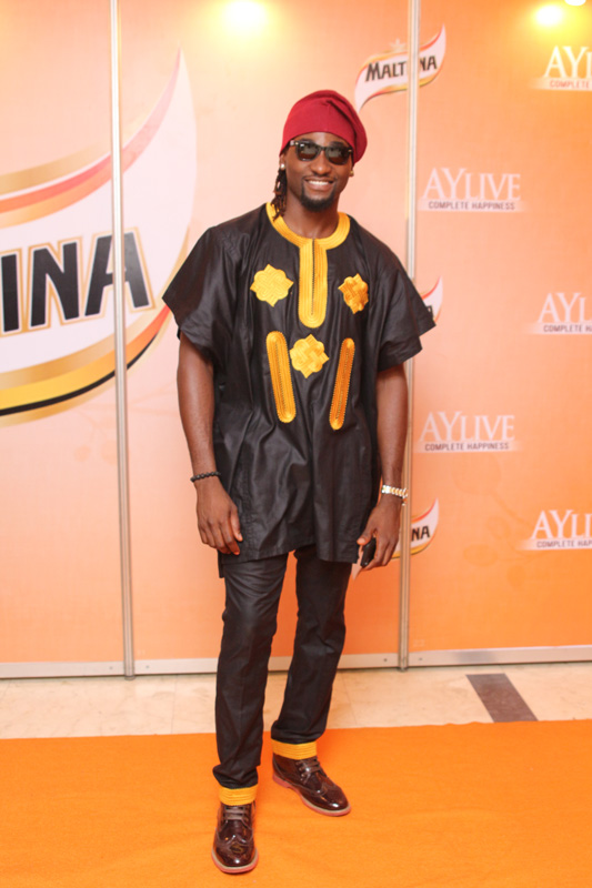 Osas ighodaro's ex husband in traditional native yoruba wear