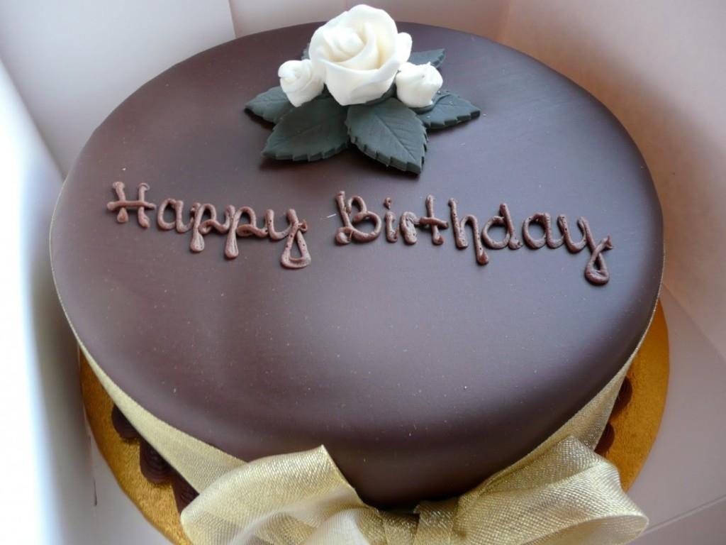 masculine brown cake