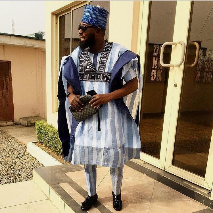 2017 Latest Agbada styles For Nigerian Big Boys