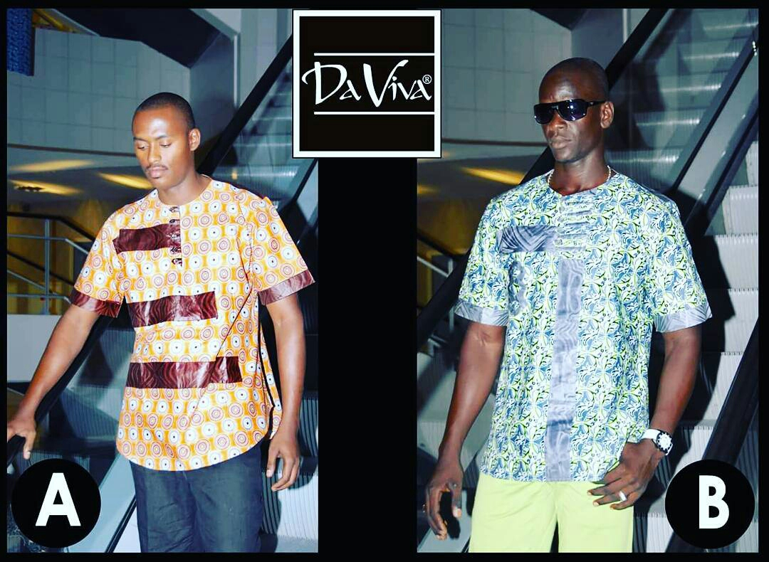 Cool Daviva Ankara Styles for Men2