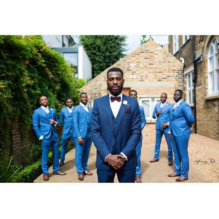 Grooms and Groomsmen Attire: Wedding Suits16