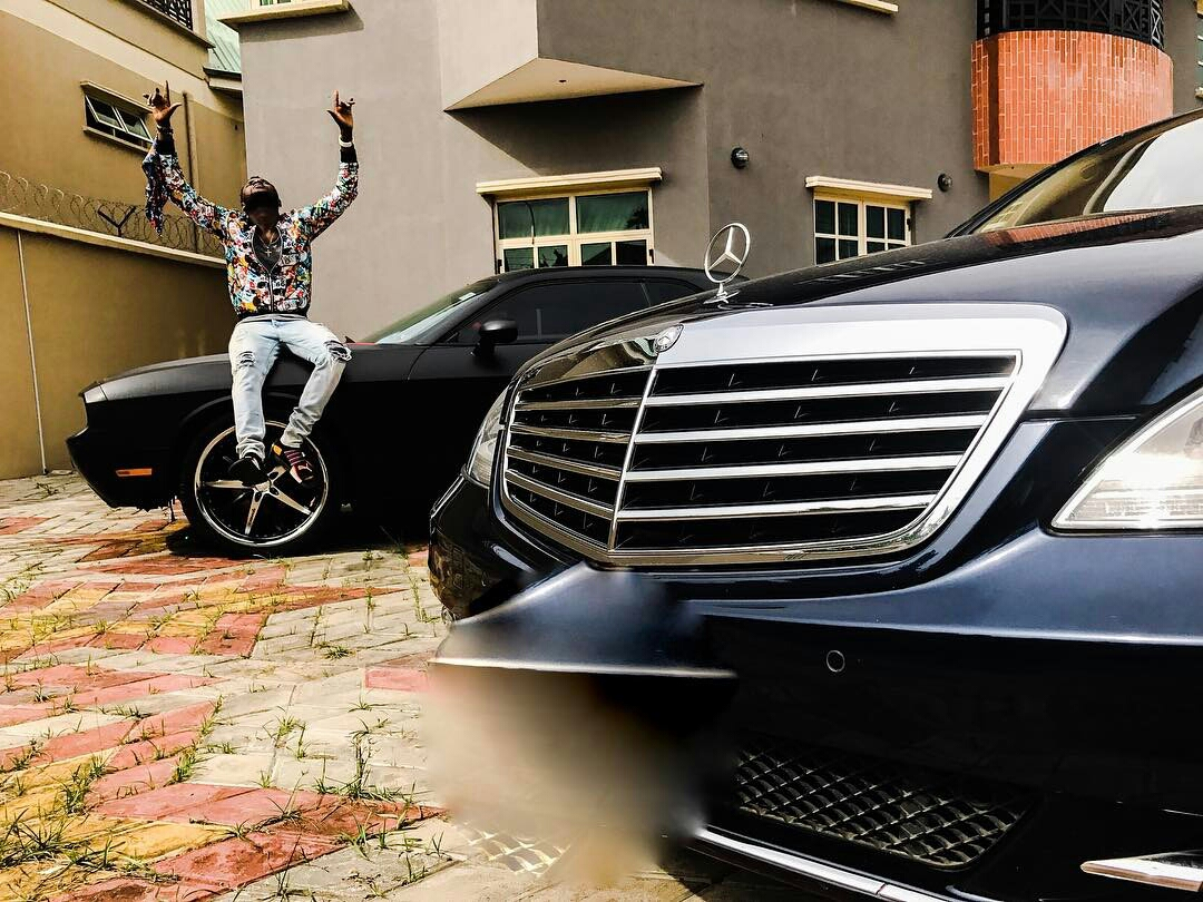 Nigerian celebrities and their Cars (Exclusive Photos) kiss daniel
