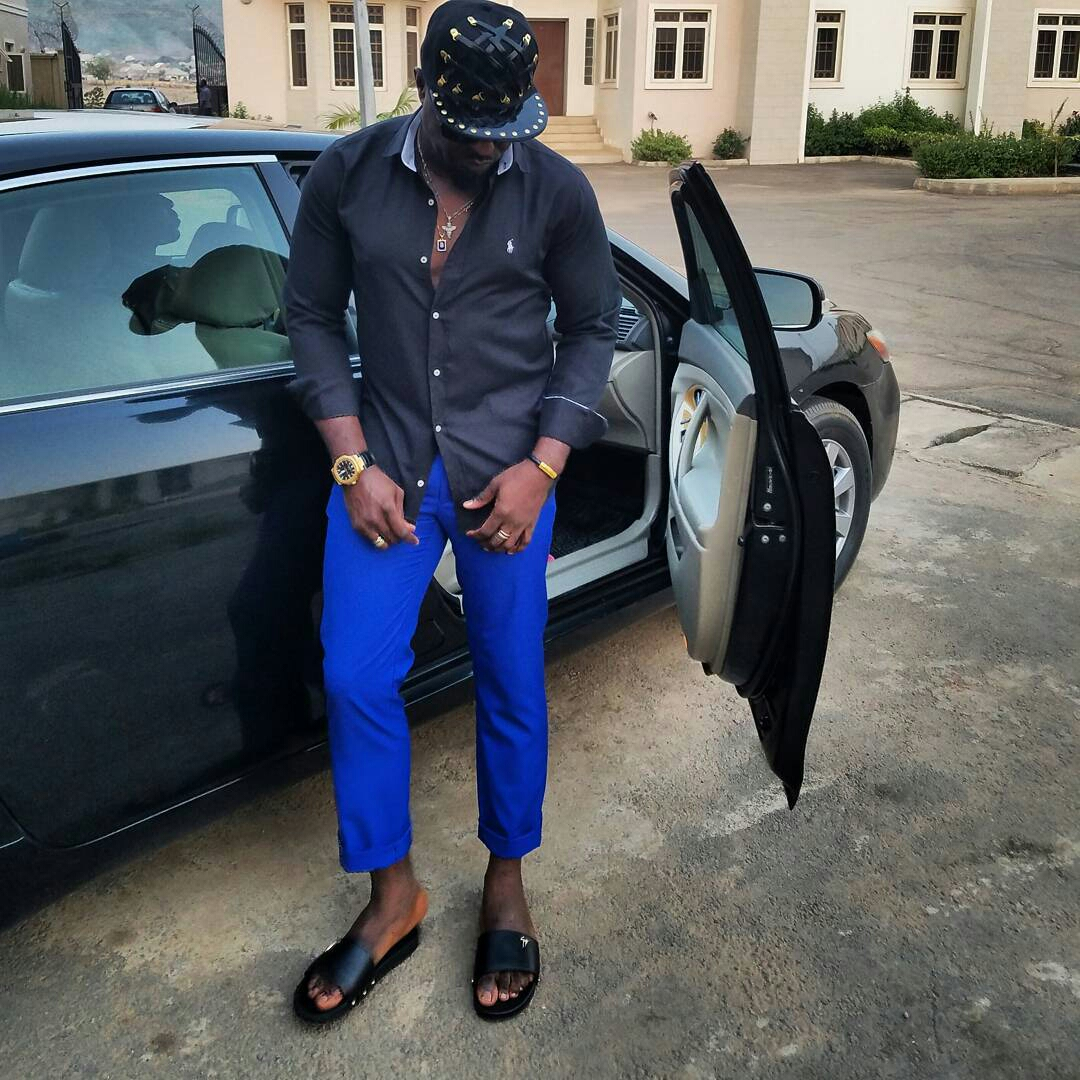 Exclusive Pictures of Jim Iyke's House & Cars3
