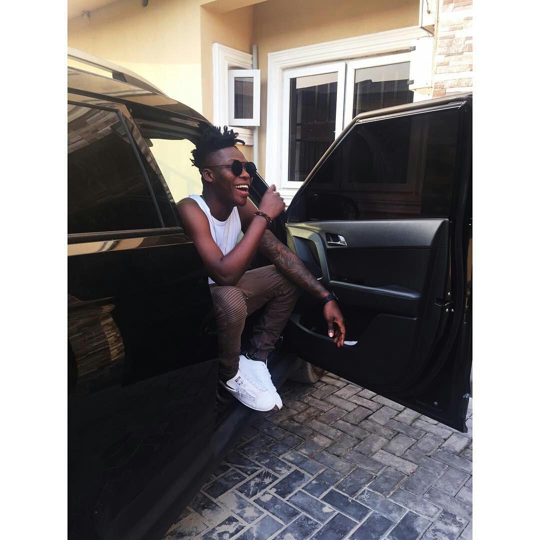 reekado banks Nigerian celebrities and their Cars (Exclusive Photos)