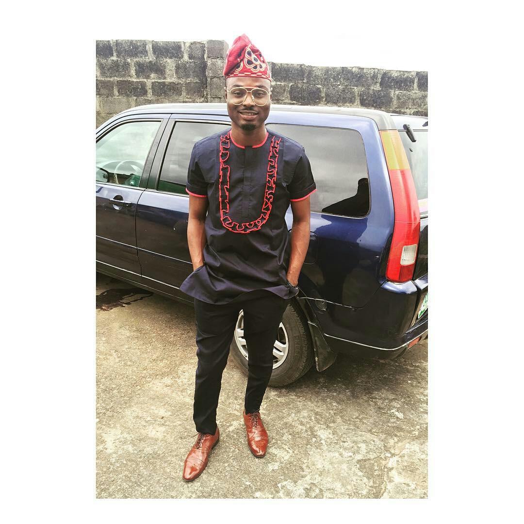 Dapper Nigerian Men's Traditional Fashion6