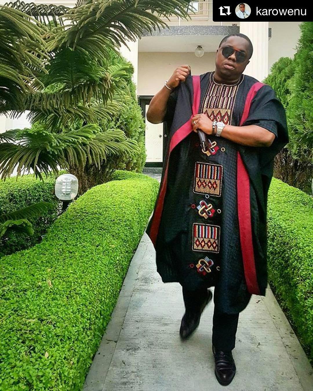 Dapper Nigerian Men's Traditional Fashion8