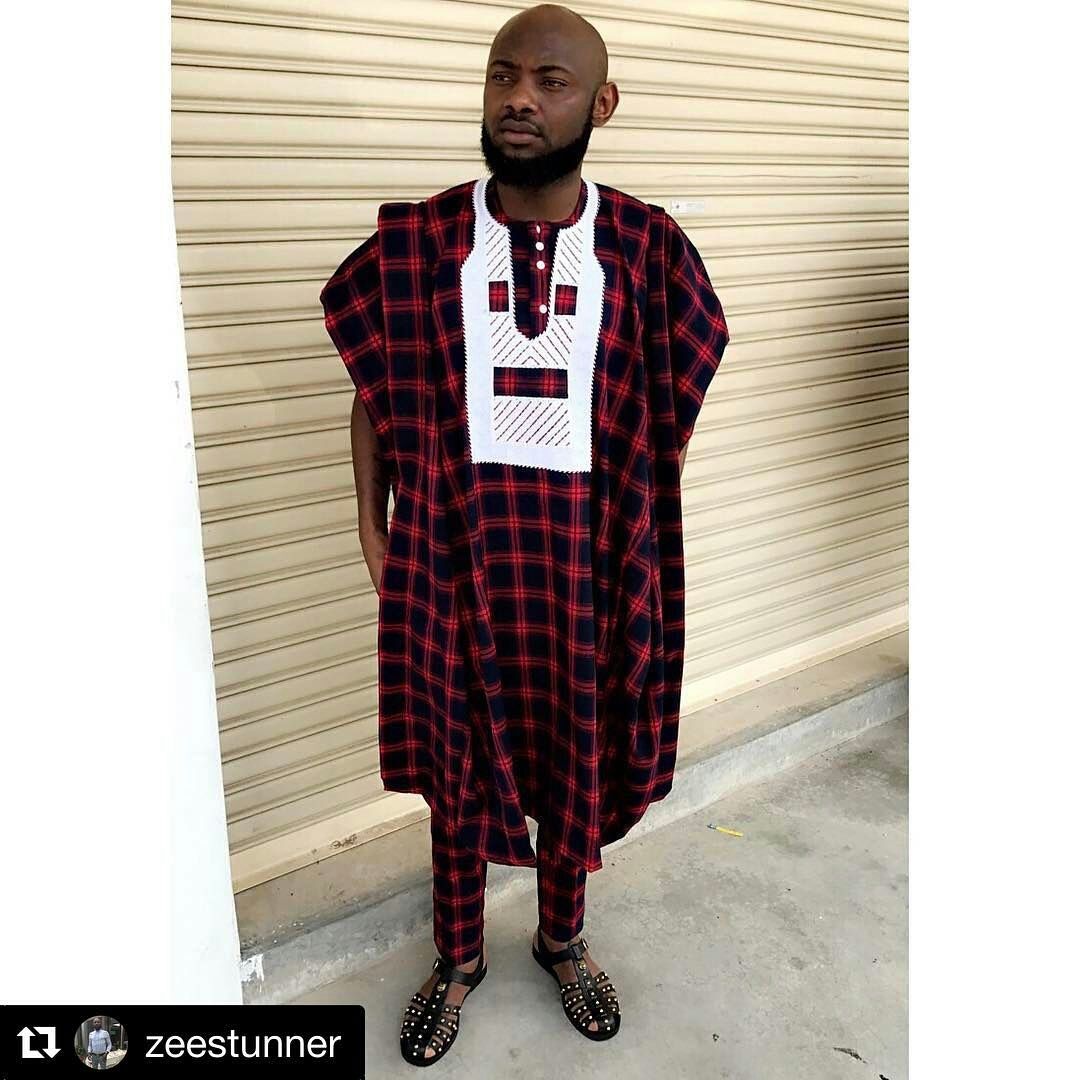 Dapper Nigerian Men's Traditional Fashion9