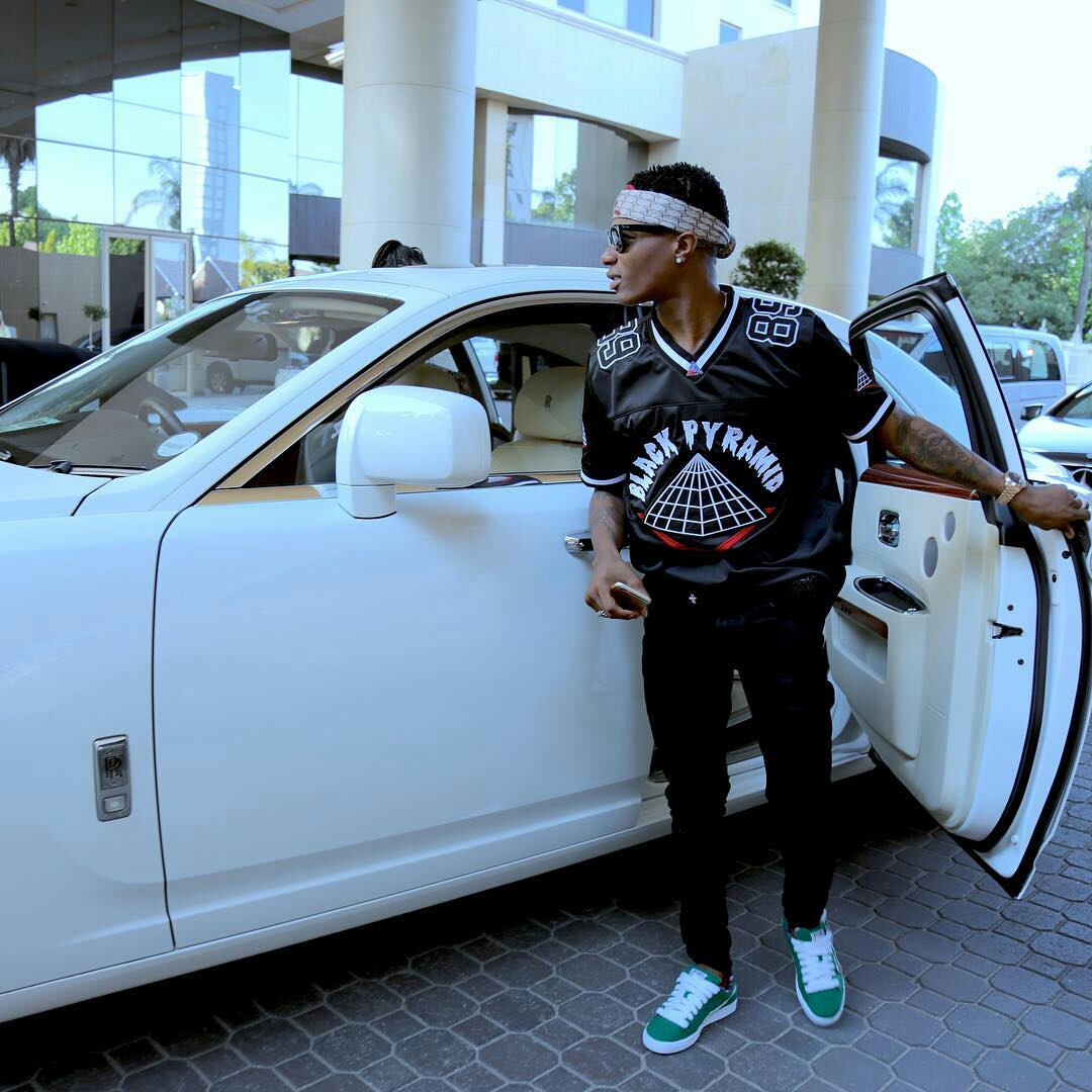 wizboy Nigerian celebrities and their Cars (Exclusive Photos)