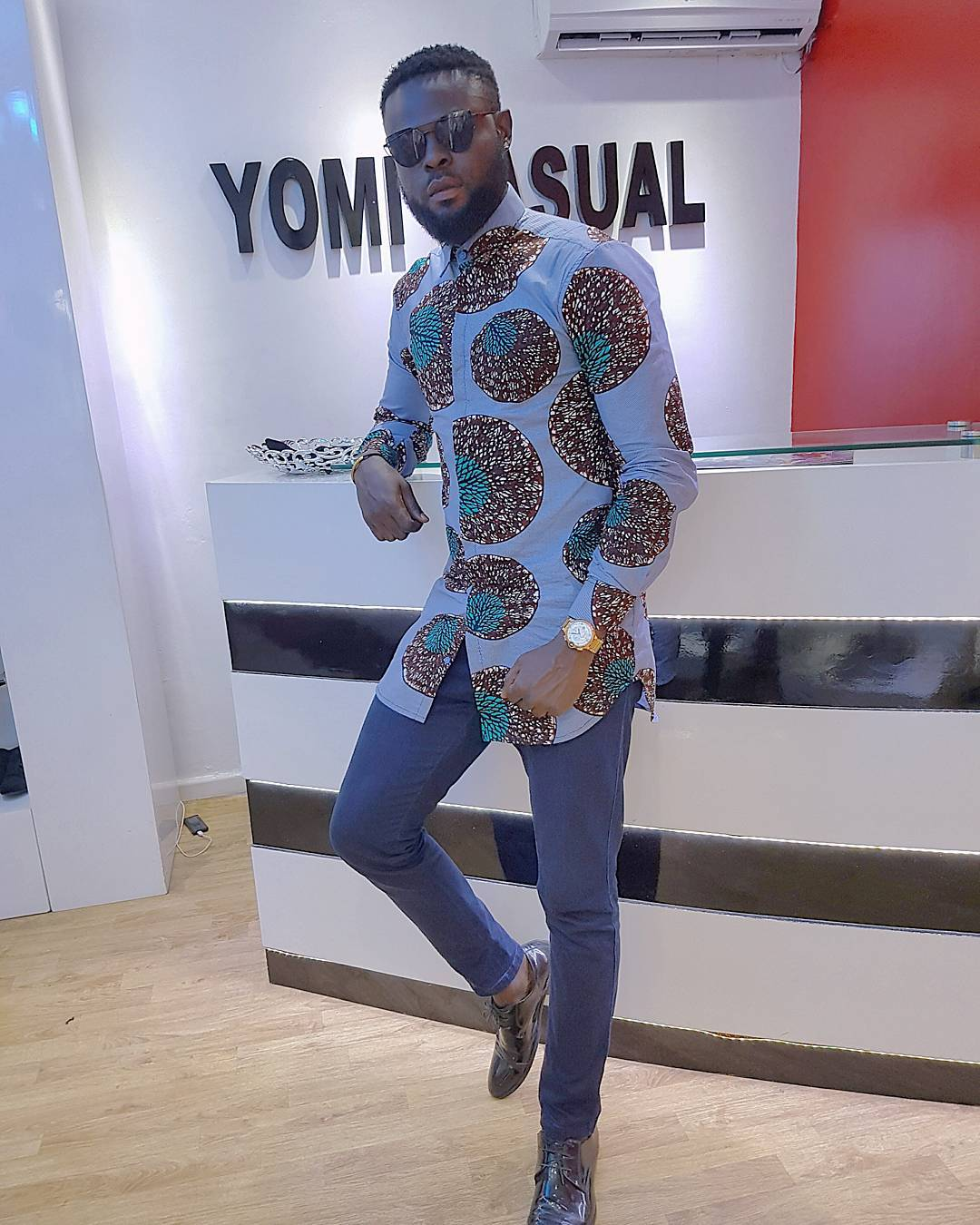 Checkout the latest Yomi Casual ankara designs and styles