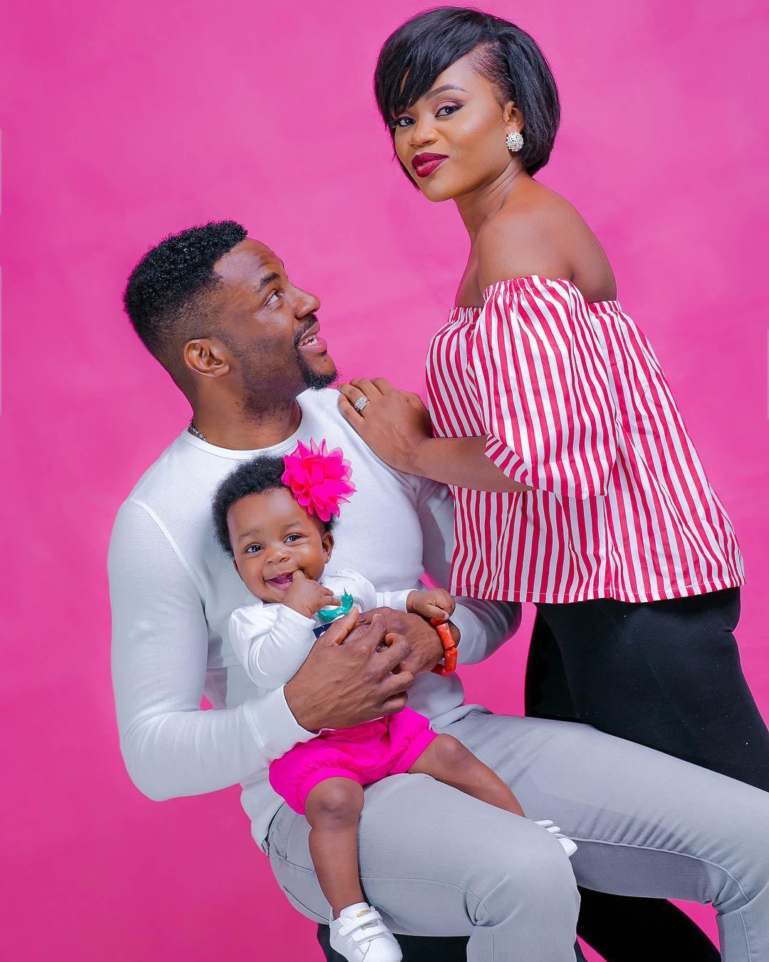 ebuka obi-echendu family wife cynthia and daughter Jasmine