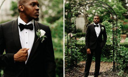 groom on his wedding day