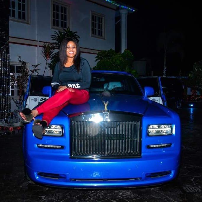 E Money Bought his Wife a Phantom Rolls Royce