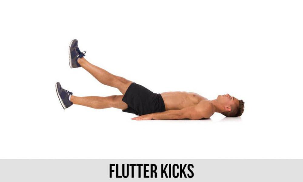 Flutter-Kicks-exercise-for-flat-tummy